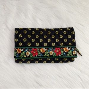 Vera Bradley Floral Trifold Quilted Wallet